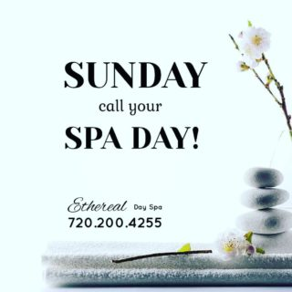 Call for your appointments for the week, starting today! We can't wait to see you! 720.200.4255